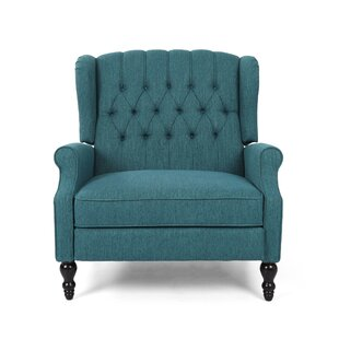 Mattice Tufted Fabric Manual Recliner by House of Hampton