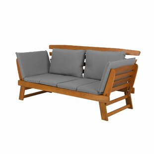Canale Wooden Traditional Bench By Sol 72 Outdoor