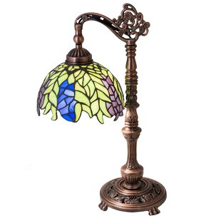 High Tiffany Honey Locust 19 Desk Lamp