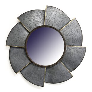 17 Stories Shaikh Saw Blade Accent Mirror