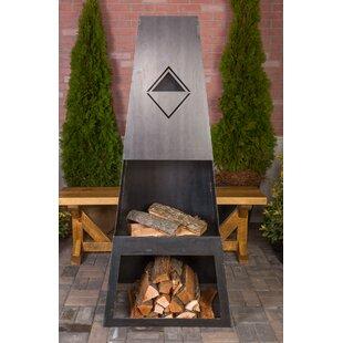 Ember Haus Ember Max Steel Wood Burning O..