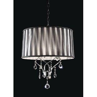 Rosdorf Park Broomsdale 1-Light Crystal Pendant