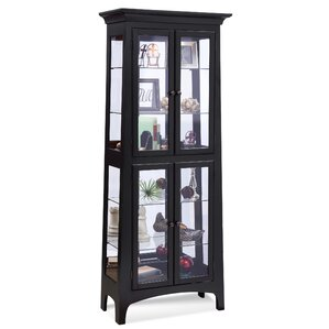 Lancaster I Lighted Curio Cabinet by P..