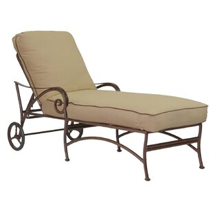 Lucerne Chaise Lounge with Cushion