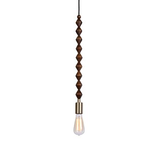 Wrought Studio Alshain Beaded Swag 1-Light Bulb Pendant