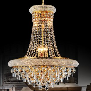 CWI Lighting Kingdom 6-Light Empire Chandelier