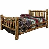 Tustin Solid Wood Standard Bed by Loon Peak®