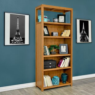 Fleta Bamboo Standard Bookcase by Latitude Run