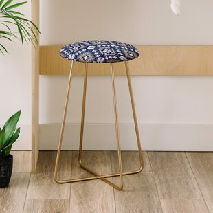 Marta Barragan Camarasa Mystic Tribal 25 Bar Stool East Urban Home