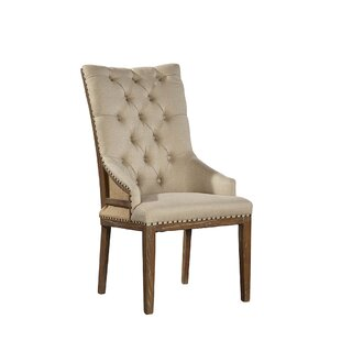 Boyles Highback Upholstered Dining Chair (Set of 2) by Furniture Classics
