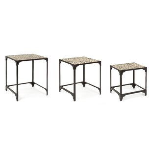 Kinsella 3 Piece Nest Of Tables By Bloomsbury Market