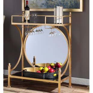 House of Hampton Barker Bar Console Table