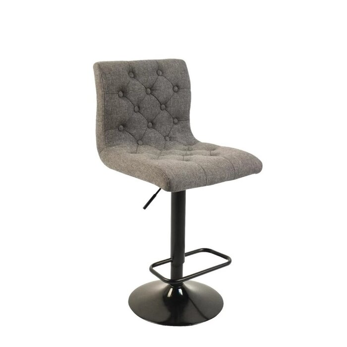 Awesome Droney Adjustable Height Swivel Bar Stool Ncnpc Chair Design For Home Ncnpcorg