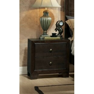 Mcnally 2 Drawer Nightstand