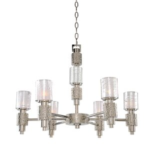 Kalco Ashington 6-Light Shaded Chandelier
