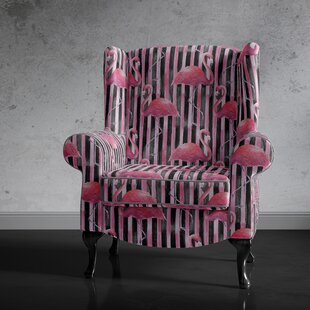 Reeves Wingback Chair By Bay Isle Home