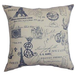 Lanctot Cotton Throw Pillow