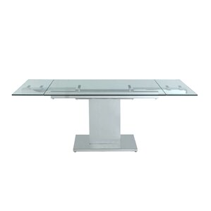 Slim Extendable Dining Table by Whiteline Imports