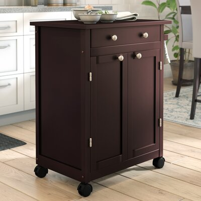 Andover Mills Prasad Kitchen Cart