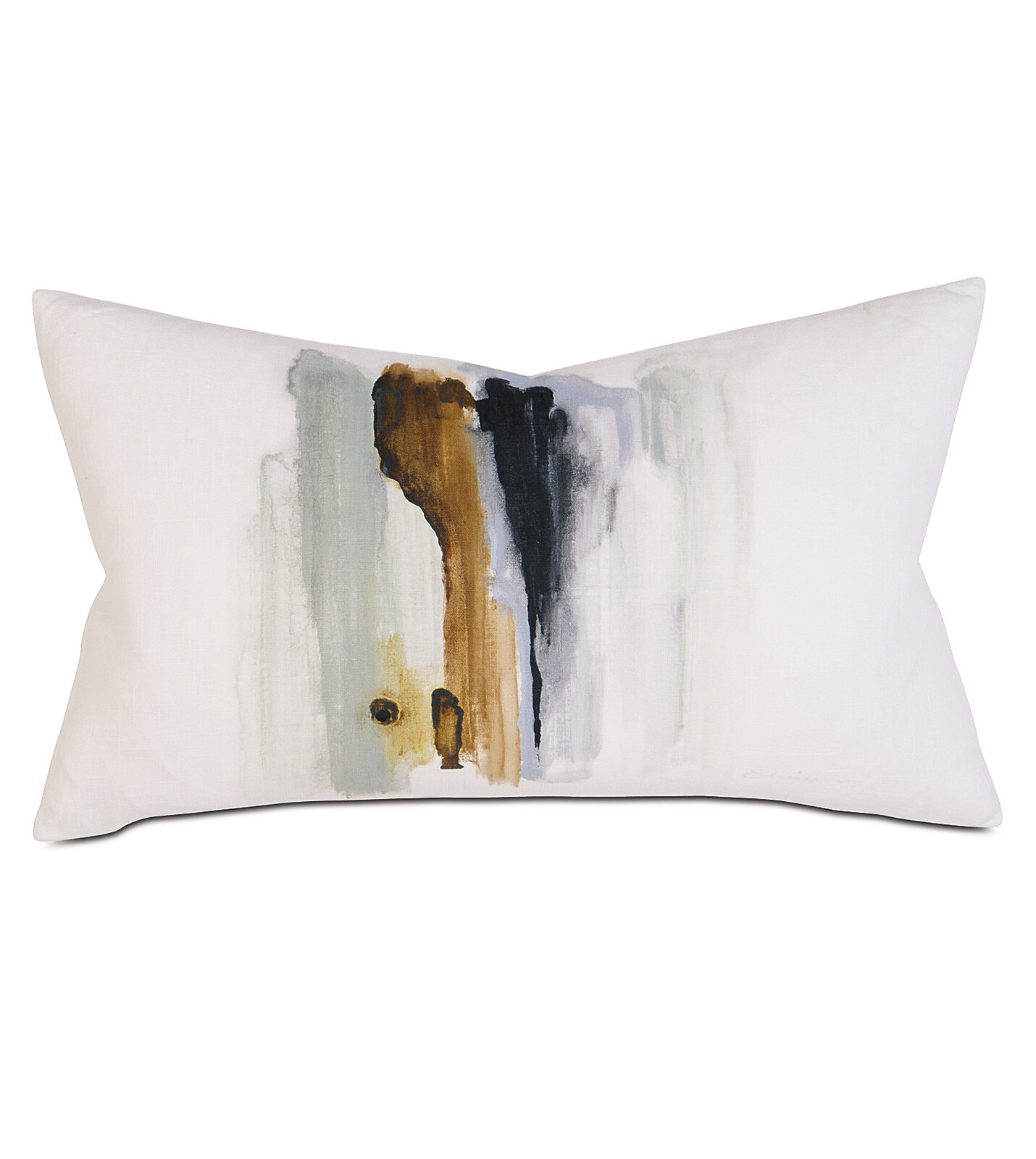 Eastern Accents Gentry Abstract Hand Painted Lumbar Pillow Wayfair