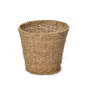 Silsbee Seagrass Waste Paper Basket By Brambly Cottage