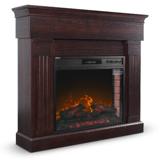 Brookwood Freestanding Electric Fireplace by Winston Porter