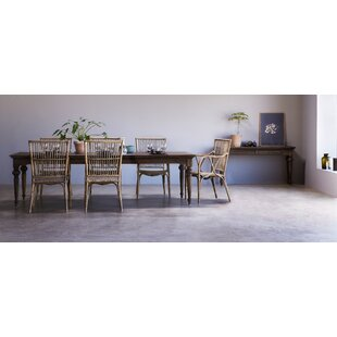 Loon Peak Ambash Solid Wood Dining Table