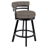 Aureliana Swivel Bar & Counter Stool by Latitude Run