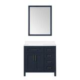 Dantavious 36 Single Bathroom Vanity Set with Mirror by Latitude Run