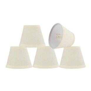 5'' Fabric Bell Floral Lamp Shade (Set of 5)