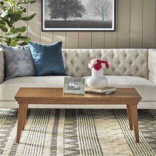 Engelbert Solid Wood Coffee Table By August Grove