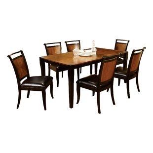 Nikolai 7 Piece Dining Set DarHome Co