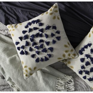 Aileen Decorative 100% Cotton Throw Pillow