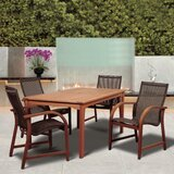 Grice International Home Outdoor 5 Piece Dining Set