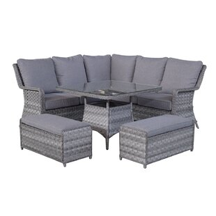 Mary 6 Seater Dining Set With Cushions