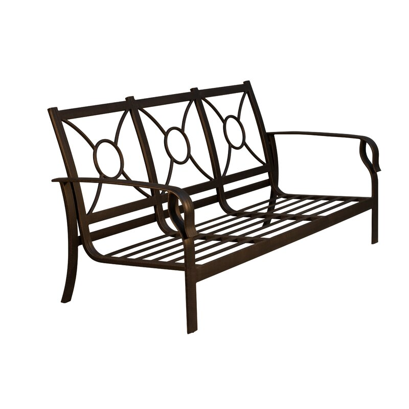 Red Barrel Studio Waynesburg Deep Seating Patio Sofa with ...