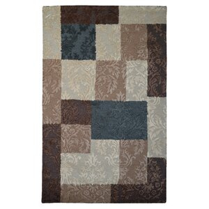 Wool Hand-Tufted Beige/Brown Area Rug