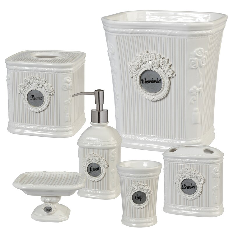 Katzer 6 Piece Bathroom Accessory Set