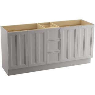Damask? 72 Vanity with Toe Kick, 4 Doors and 3 Drawers by Kohler