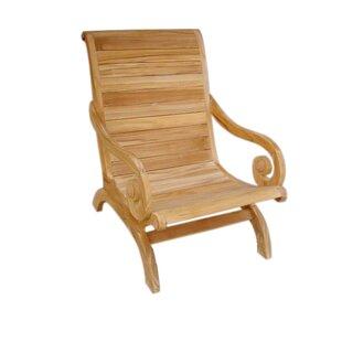 D-Art Collection Teak Patio Chair