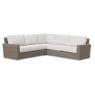 Coronado Sectional With Sunbrella Cushions by Sunset West Design
