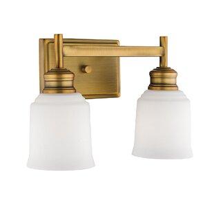 Zeke 2-Light Vanity Light by Winston Porter