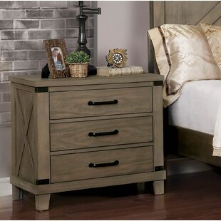 Aldfreck 3 Drawer Nightstand by Gracie Oaks