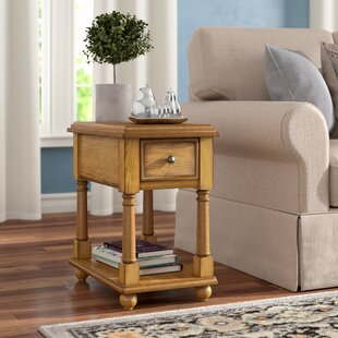 Katherine End Table With Storage by Alcott Hill