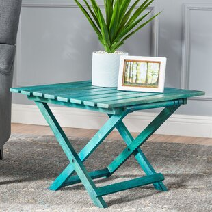 Schanya End Table by Highland Dunes