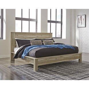 Buy luxury Wellow Panel Bed ByMercury Row