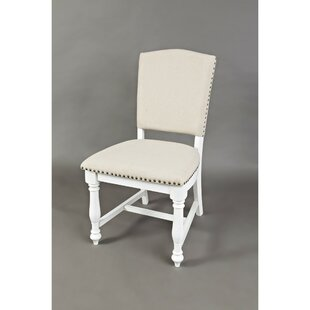 Armless Upholstered Dining Chair (Set of 2) by Benzara