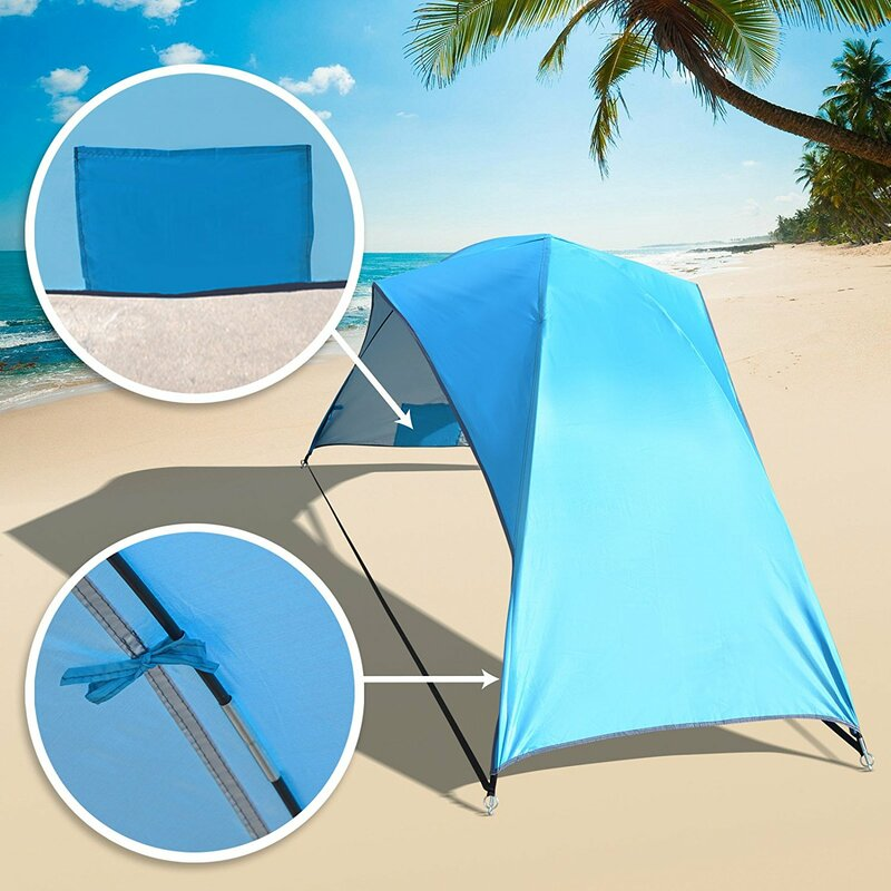 Beach Sun Shade Portable Hiking Travel Camping Outdoor Ning Canopy 2 Person Tent