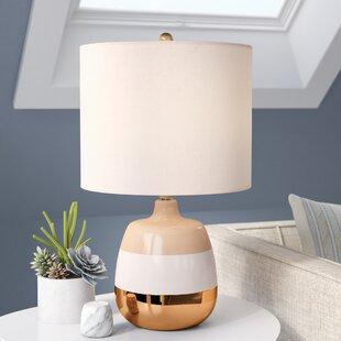 Arctarus Modern Tri-Tone Ceramic 23 Table Lamp