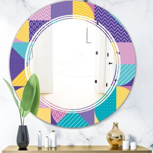 East Urban Home Ornamental Design Iii Space Modern Frameless Wall Mirror Complete Guide
